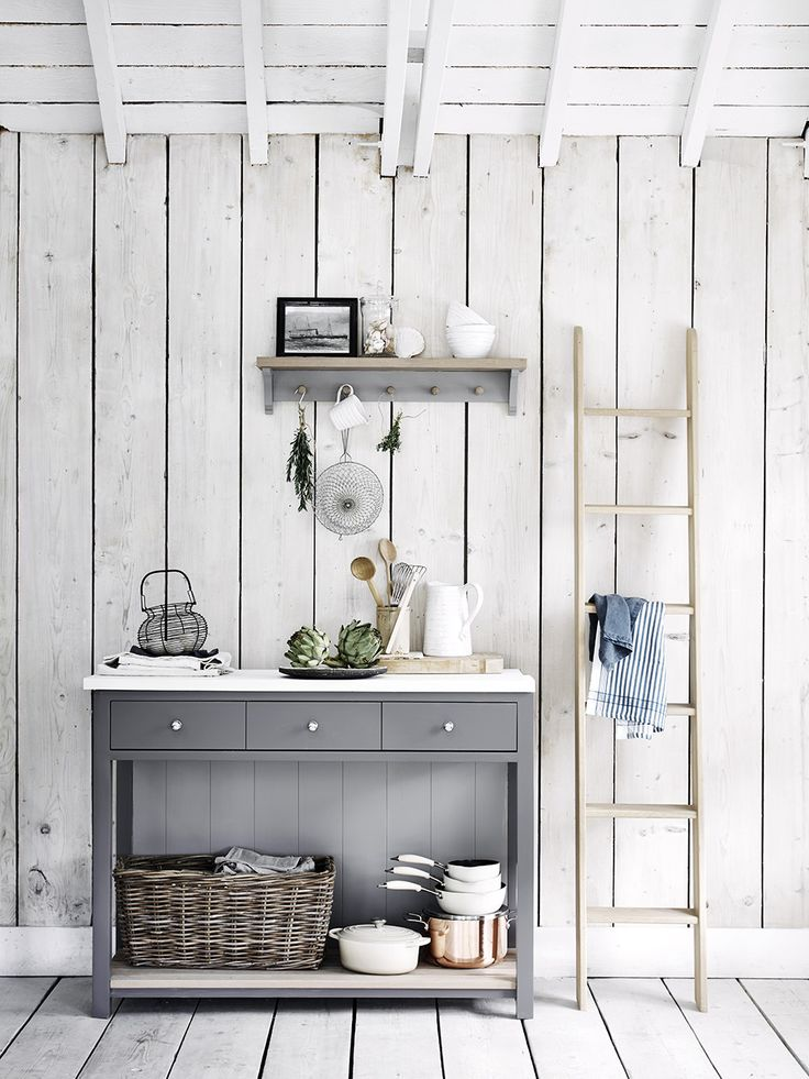 Suffolk Pot Board And Coat Rack Used In The Kitchen