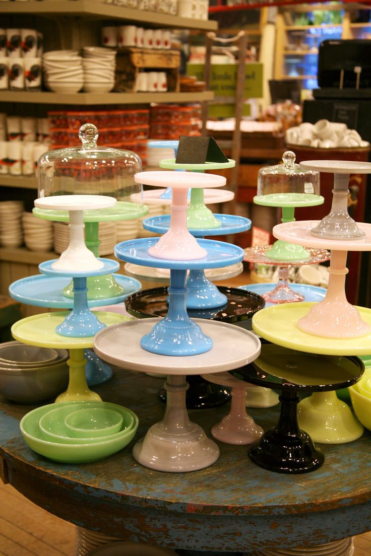 Need one or two of these cake stands & 108 best Eclectic Dinnerware images on Pinterest | Crystals Vintage ...
