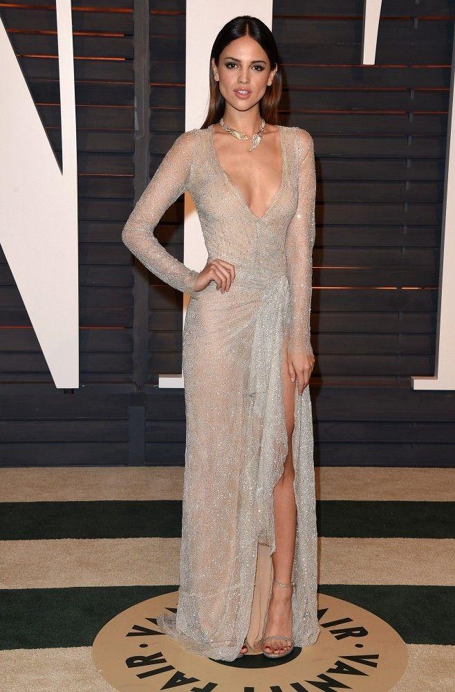 Eiza Gonzalez love her dress!