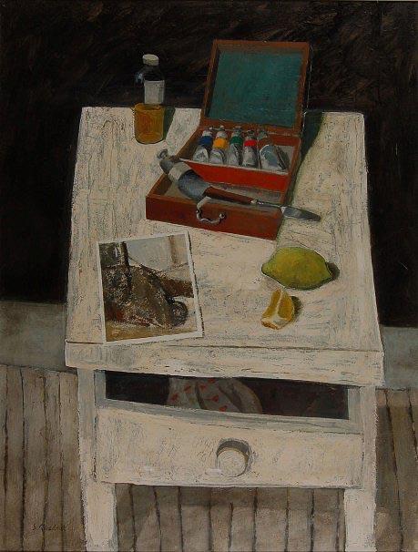 Simon Quadrat, Still life with paintbox