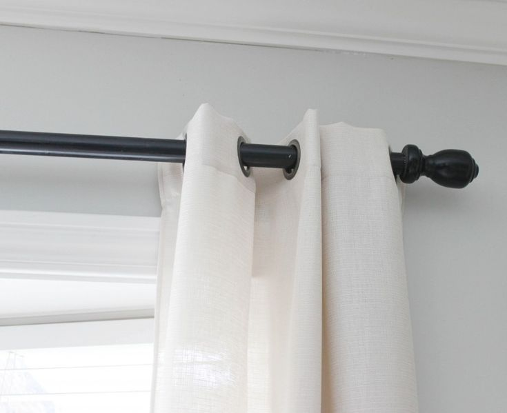Curtains Ideas curtain rod hanger : 17 best ideas about Extra Long Curtain Rods on Pinterest | Cheap ...