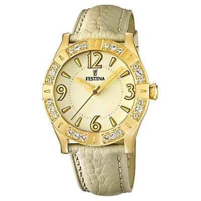 Me gustó este producto Festina Reloj Mujer Dorado. ¡Lo quiero!