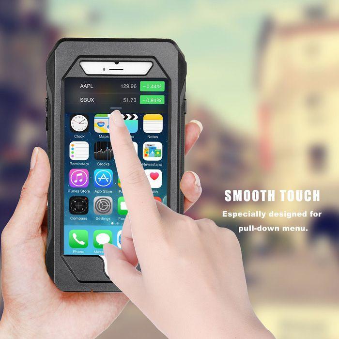 US Direct   RIYO IP68 Waterproof Shockproof Dirtproof Snowproof Case For iPhone 6 Plus