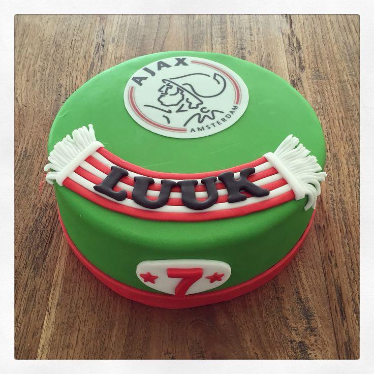 Voetbal Ajax taart
