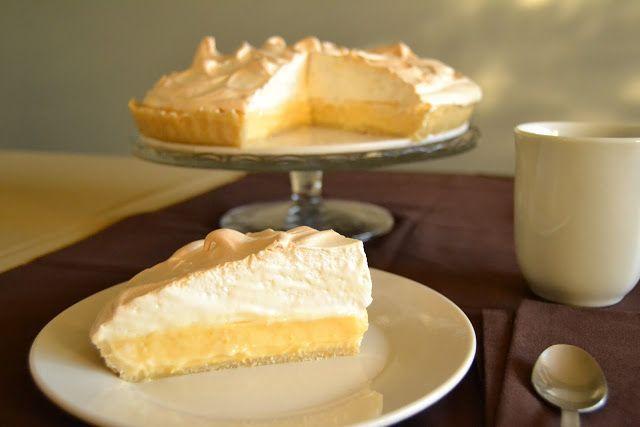 Tarta de limón y merengue  (Lemon meringue pie)