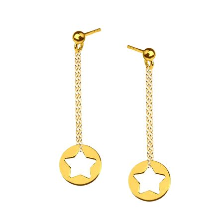 Sterling silver earrings with stars from Filigree.pl. Click on the photo to go to our store!