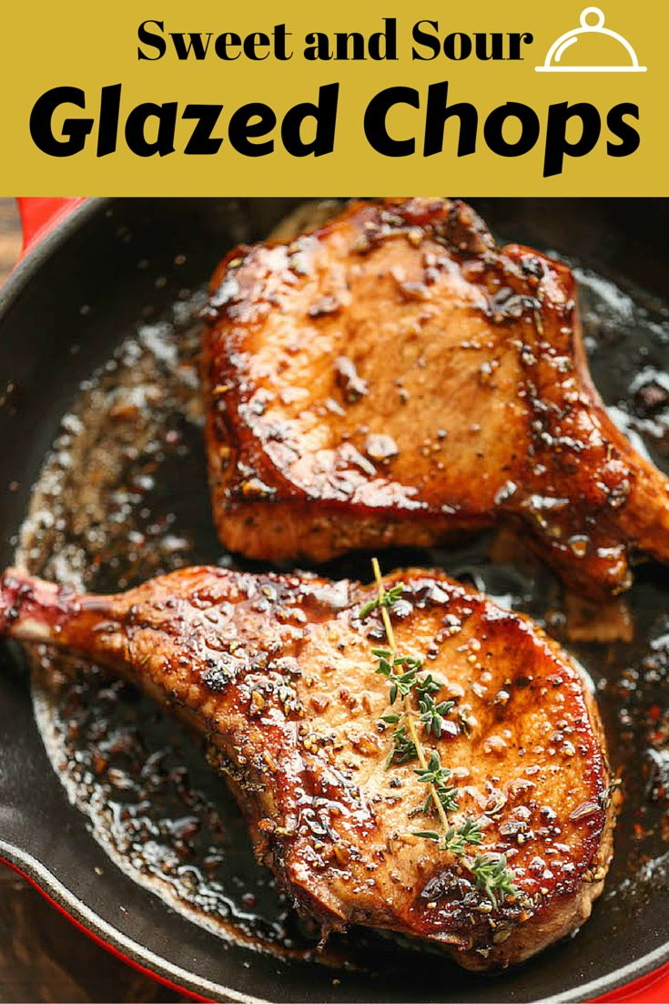 Sweet and Sour Glazed Chops | Recipe | Honey, Main courses and Lime ...