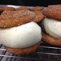 The Churro Ice Cream Sandwich Looks Too Good to Be Real?But It Is! Here's Where You Can Find One...