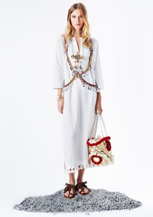Figue Ella Kaftan and Tuk Tuk Tote http://www.figue.com/luxury-accessories/luxury-accessories-luxury-boho-handbags/large-tuk-tuk-tote-ivory-red: