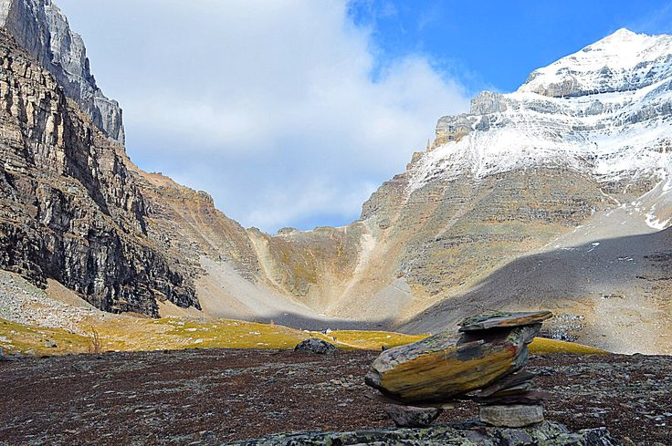 Larch Valley, Banff National Park, Canada. Check out this must do Fall hike below.