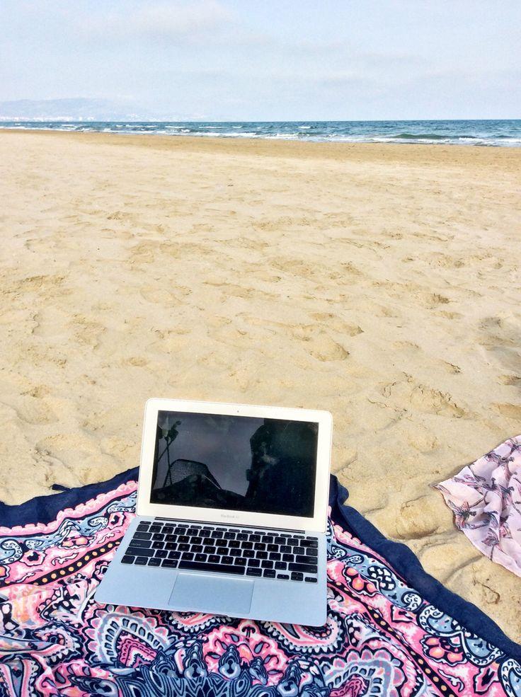 Beach at Castellon de la plana Spain