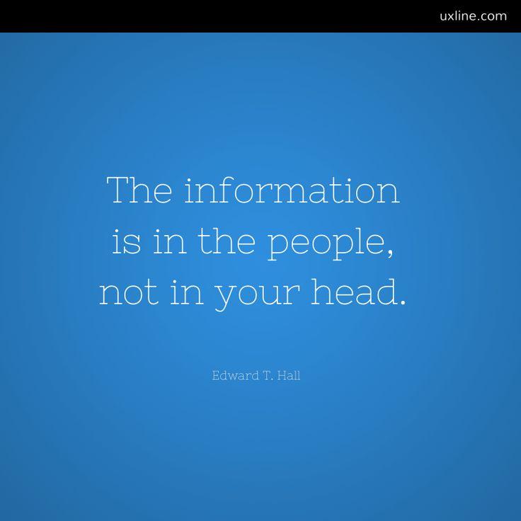 ux, información, testear