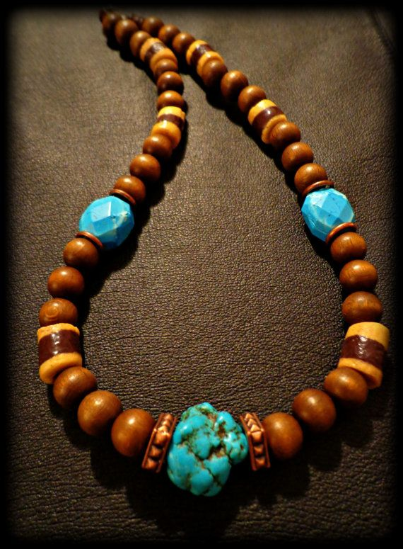 15 best Tribal Mens Necklace images on Pinterest Mens jewelry
