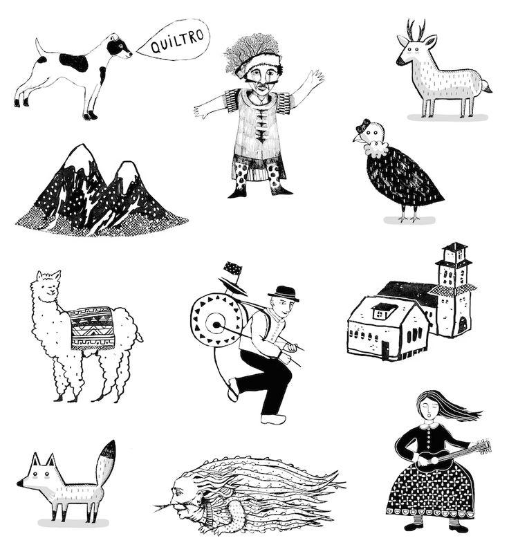 Identidad Chile – Bologna Children's Book Fair : Catalina bu