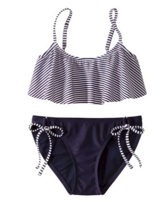 Preppy Nautical Target Bathing Suit