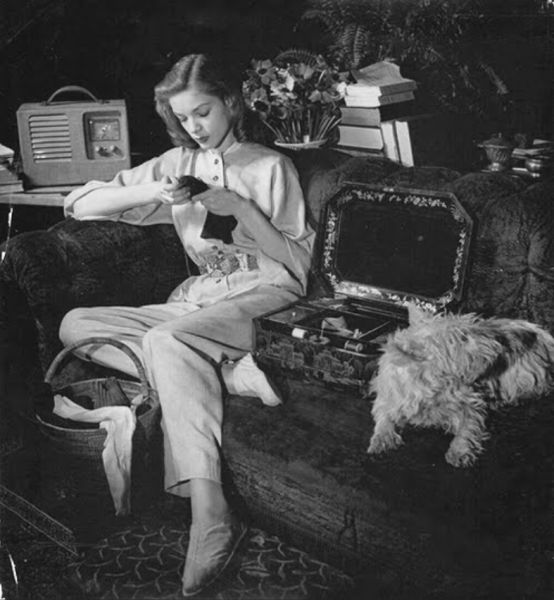 Image result for Bacall knitter