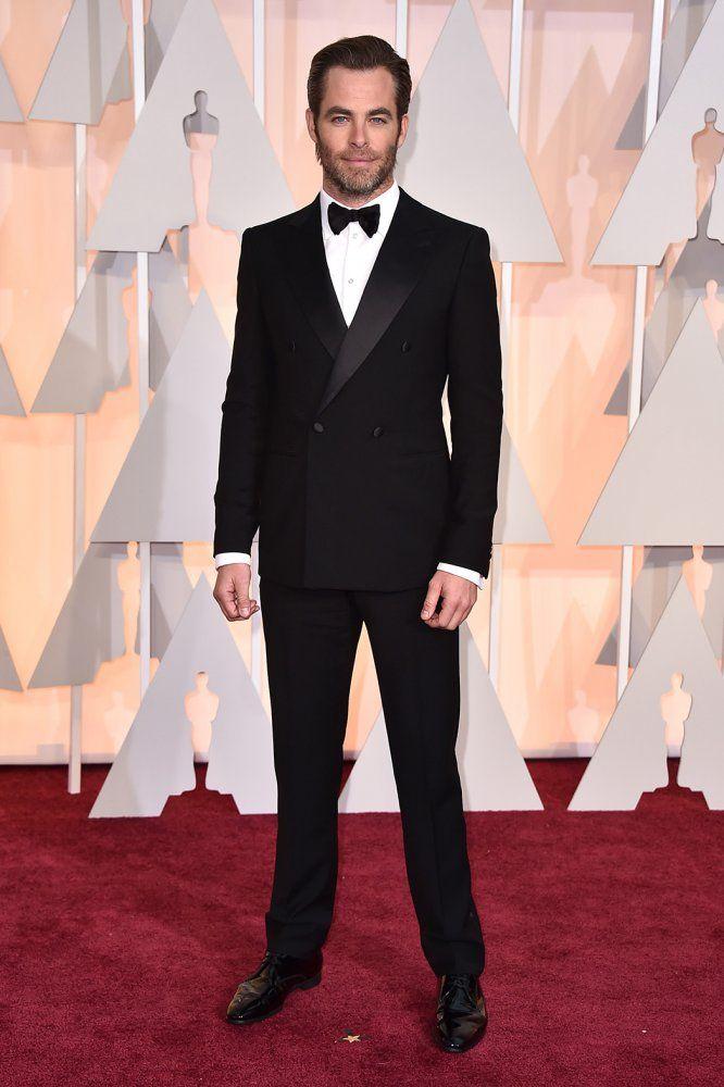 CHRIS PINE en Giorgio Armani | Oscars 2015