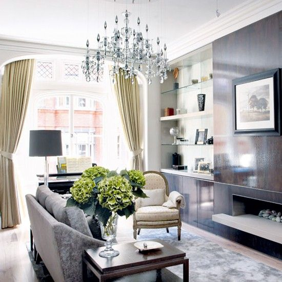 Opulent!: Idea, Living Rooms, Livingroom, Interiors Design Style, Small Spaces, South Shore Decor, Sit Rooms, Bays Window, Decor Blog