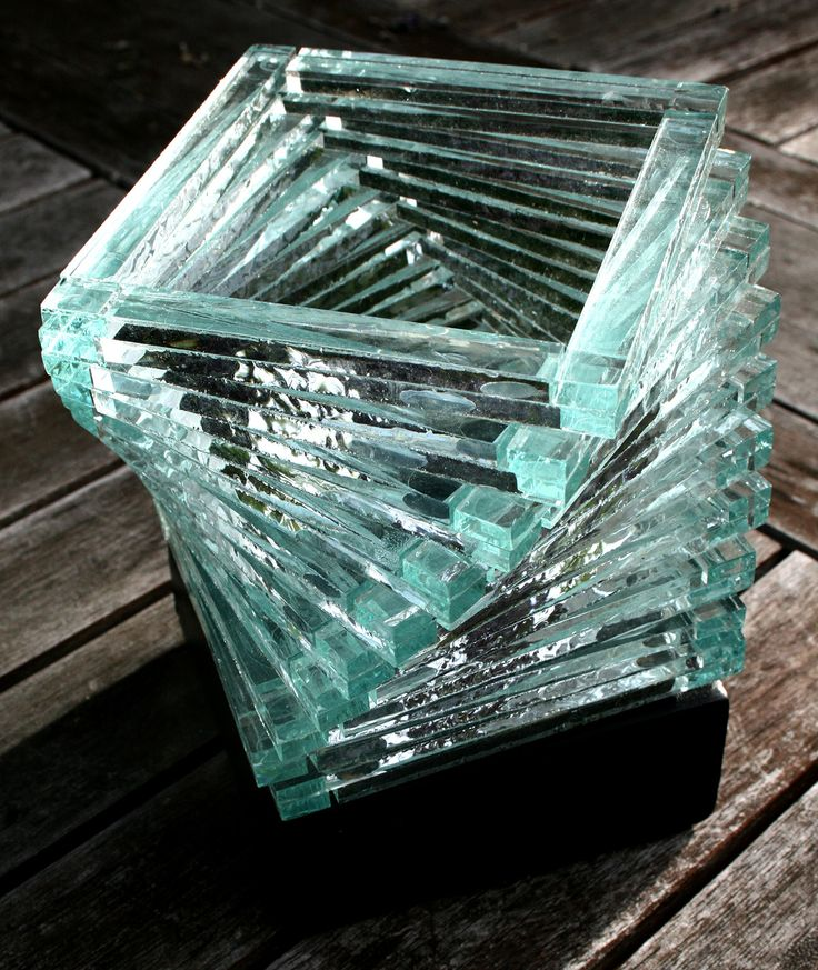 Stacked Glass Helix Candle Holder 4in x 5.5in $12.99, reg. $19.99 Save on Crafts