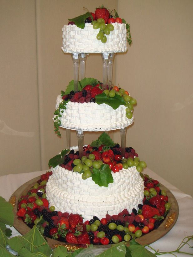 Creative Wedding Cakes From FoodNetwork