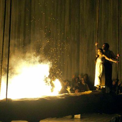 @Opera North prodution of Bellini's Norma    #opera #Bellini #Norma  © Alastair Muir
