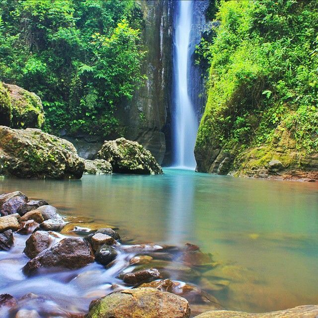 Air Terjun Curug Siluwok, Desa Keweron, Kecamatan Samigaluh, Yogyakarta