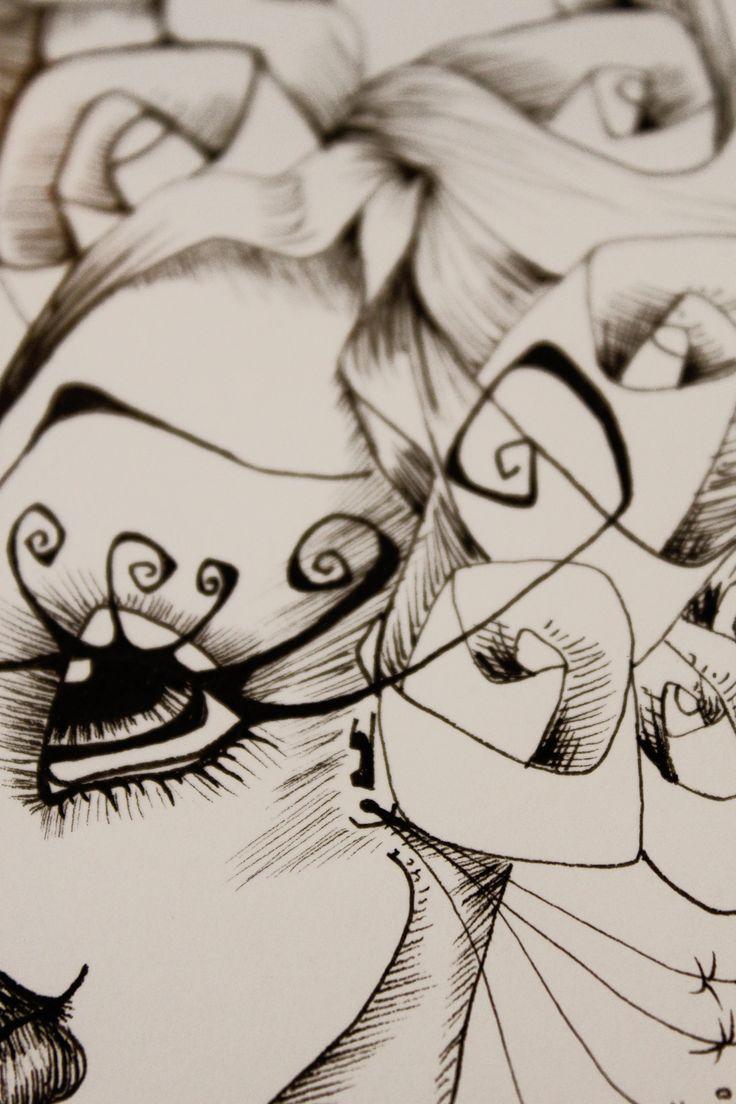 Detalle de ilustración Mora Fiaño www.moracuadros.com.ar