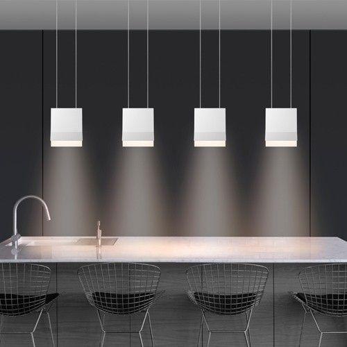 Bruck lighting sonneman lambda led pendant light