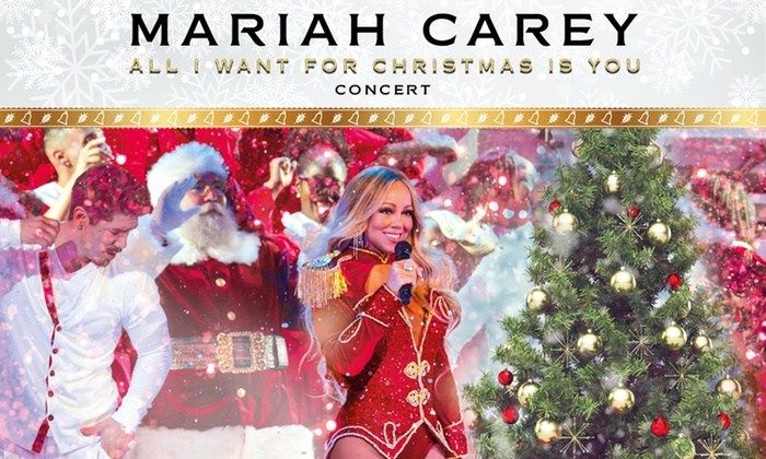 Mariah Carey All I Want For Christmas Live Show 9 11 December Three Locations Mariah Carey Mariah Shows