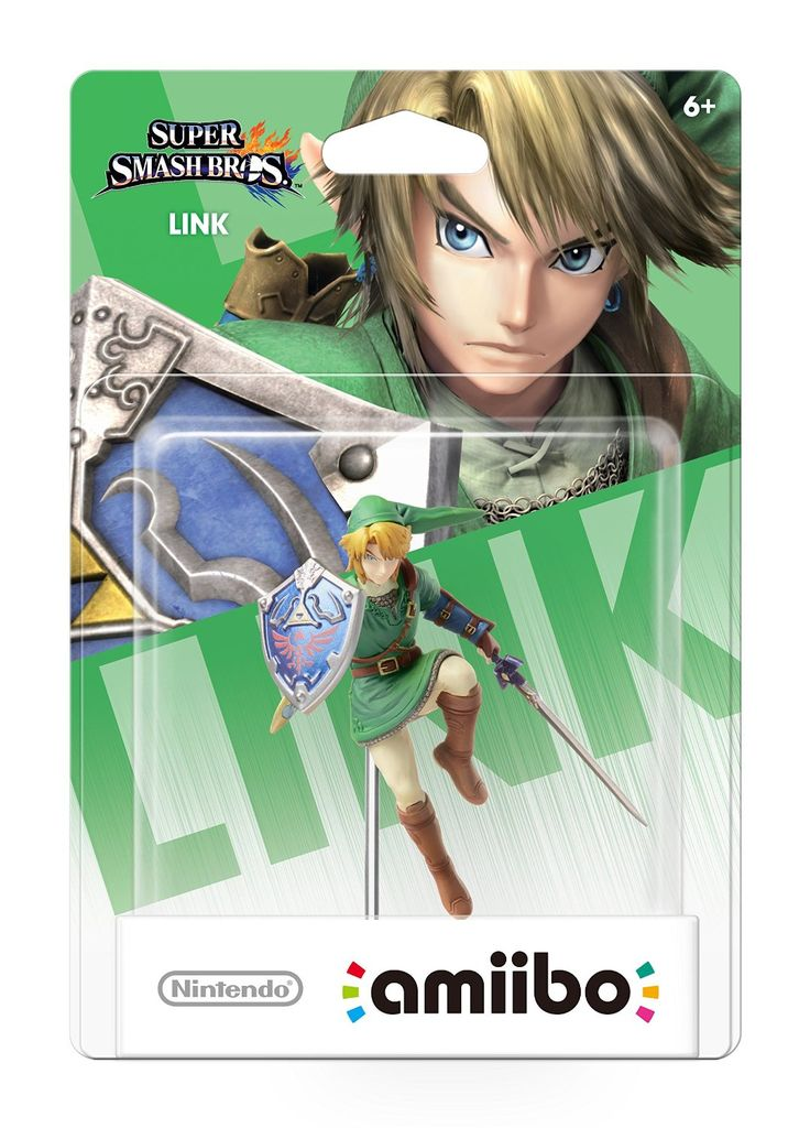 Nintendo's Link Amiibo for Super Smash Bros. Wii U!  I can't wait to get him on November 21st!  I want to get Zelda too.