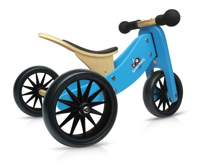 Kinderfeets - Tiny Tot Blue 2-in-1 Balance Bike and Tricycle