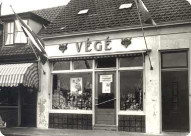 Winkel in de jaren '50 in Koudekerke.