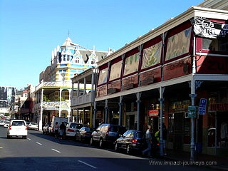 Long Street - full of cafes and shops in central Cape Town, South Africa