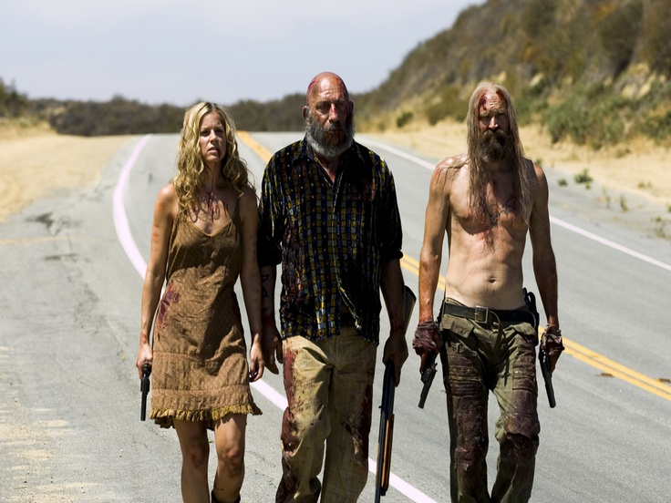 The Devil's Rejects. Baby, Captain Spaulding, Cutter