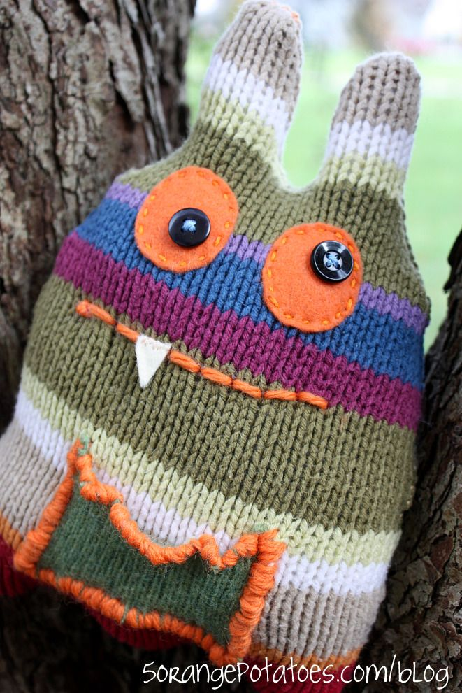soothing gremlin softie (free pattern)