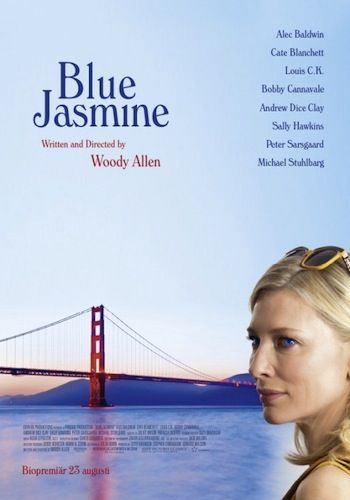 Woody Allen's summer film, Blue Jasmine  - Cate is superb. I love how W. A. show to people the snobbish, superficial sociality group. Perfect.