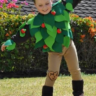 The Giving Tree. Book week costume. Halloween