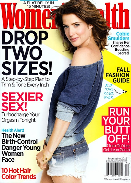 Cobie Smulders for Women's Health September 2012Women'S Health, Woman, Colby Smulders Hair, Women Health, 10 Healthy, Cobie Smulders, Healthy Dinner Recipe, September 2012, Health Magazines