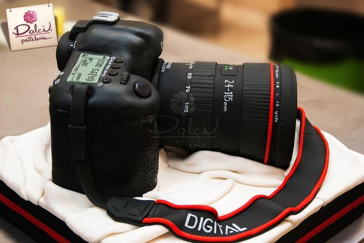 Canon Camera Cake Design : 20 best images about macchina fotografica on Pinterest ...