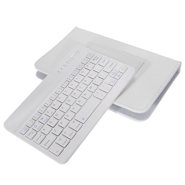 Adjustable Buckle Wireless Bluetooth Keyboard Flip Holster Case for Samsung S6/S7 iPhone 6/6s Sale - Banggood.com