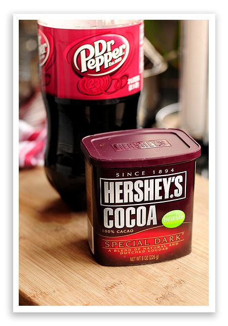 Dr. Pepper and Chocolate