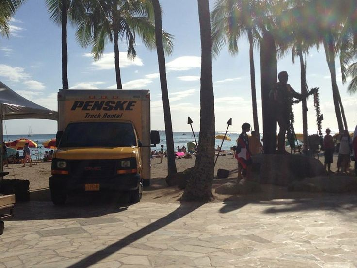 Greetings From Hawaii Penske Truck Rental At The Beach Surfsup Hangloose Scenic Routes Scenic Hawaii