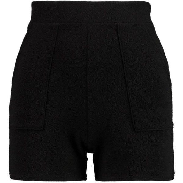 Petite Rachel High Waisted Pocket Shorts ($13) ❤ liked on Polyvore featuring shorts and petite shorts