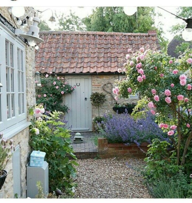 Garden Decking Ideas For Small And Large Plots: 1391 Best Cottage Gardens Images On Pinterest