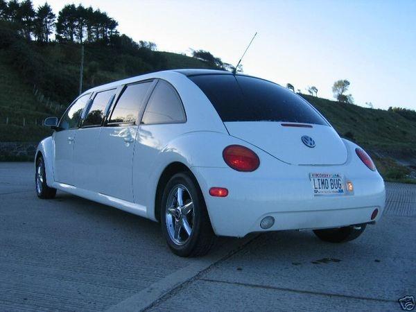 OMGOSH!!! A slug bug limo!!!