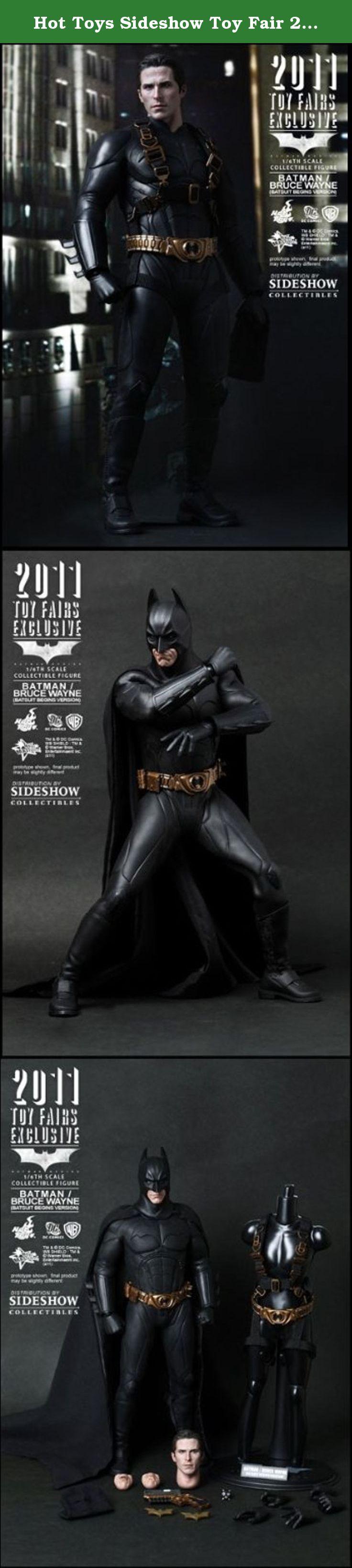 Hot Toys Sideshow Toy Fair 2011 Batman Begins Bruce Wayne Batsuit. Hot Toys Sideshow Toyfair 2011 Batman Begins Bruce Wayne Batsuit new in box!.