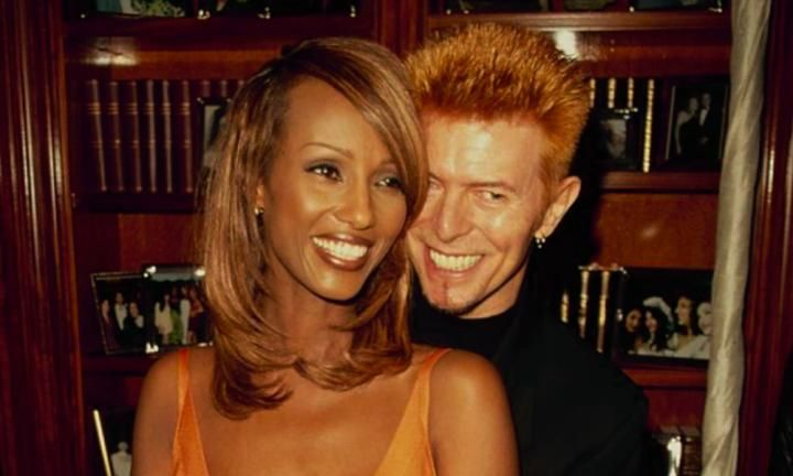 While Iman and David Bowie were fiercely private about their family life, the supermodel has revealed precious moments on Instagram.