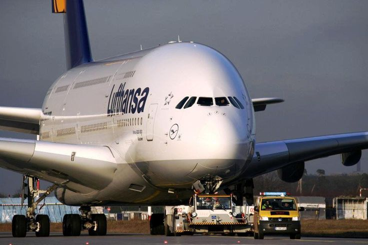 Lufthansa A380. We got to ride on the world's largest commercial plane!