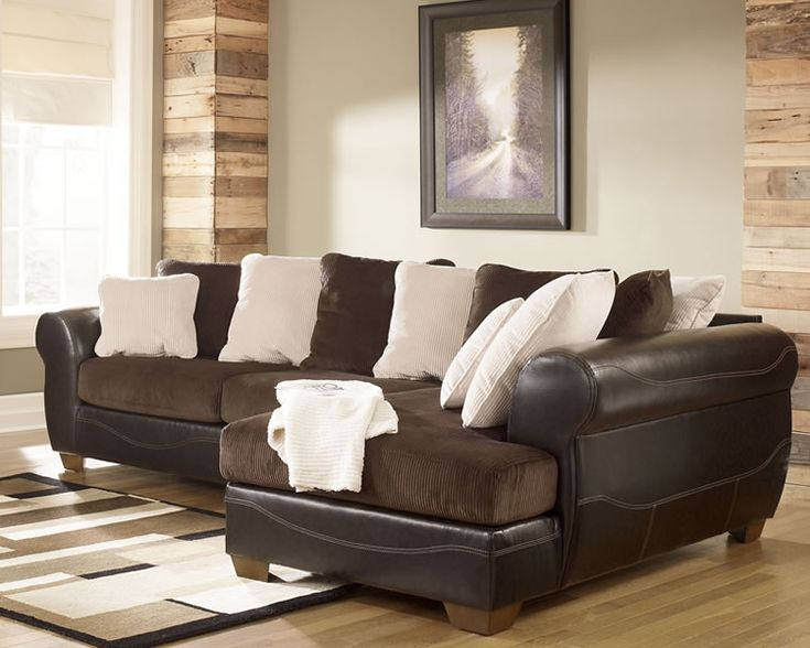 17 best images about furniture on pinterest armchairs for Ashley brown sofa chaise