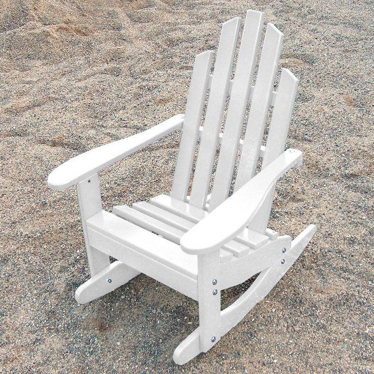 Rocking Chair on Pinterest  Adirondack Chair Plans, Adirondack Chairs ...
